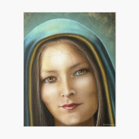 Mother Mary Art Board Print