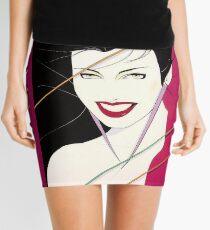 Simple Culture Fears Mini Skirt