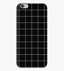 Weißes Gitter iPhone-Hülle & Cover