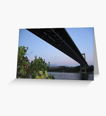 Tamar Bridge Greeting Card