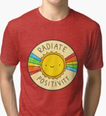Radiate Positivity Tri-blend T-Shirt