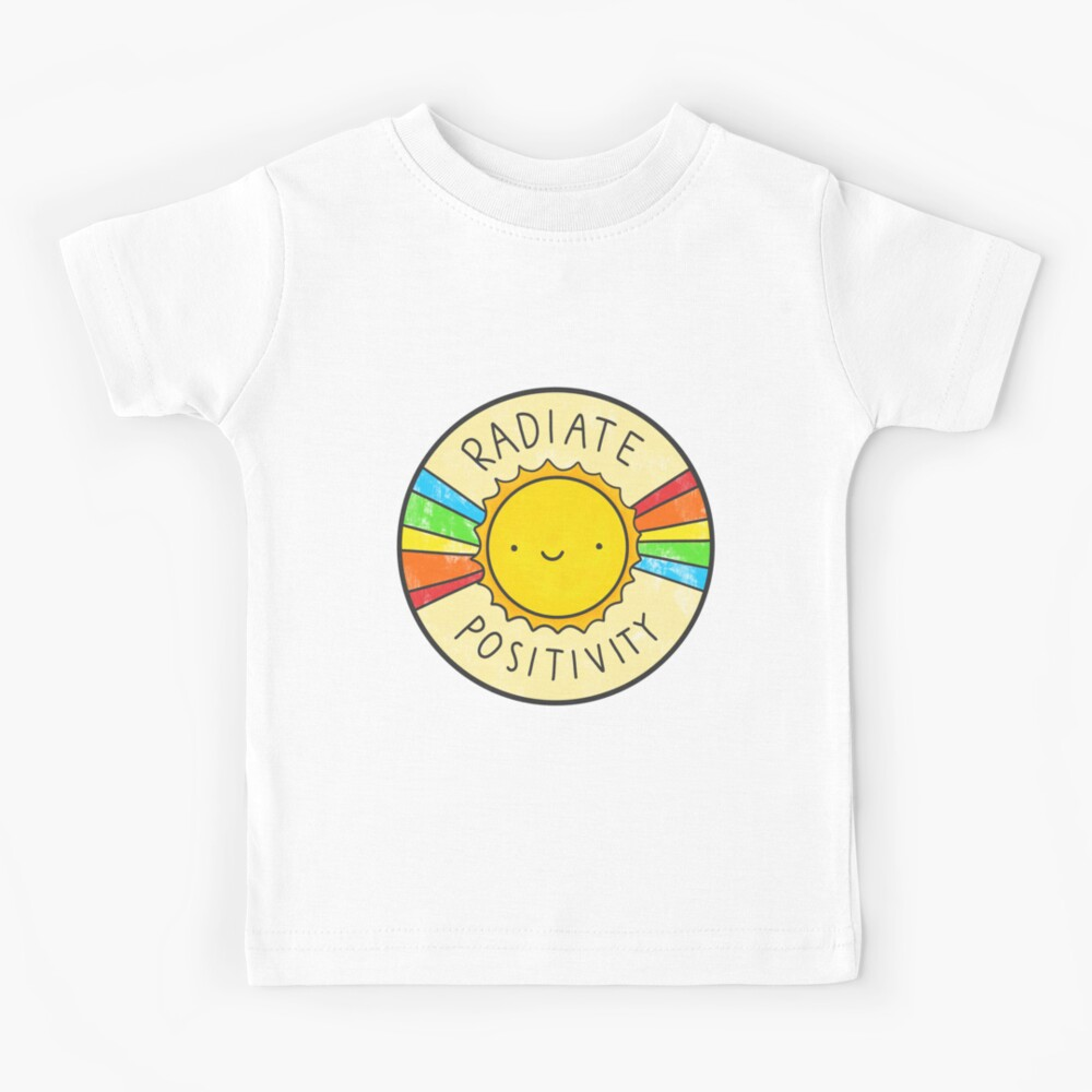 Radiate Positivity Kids T-Shirt