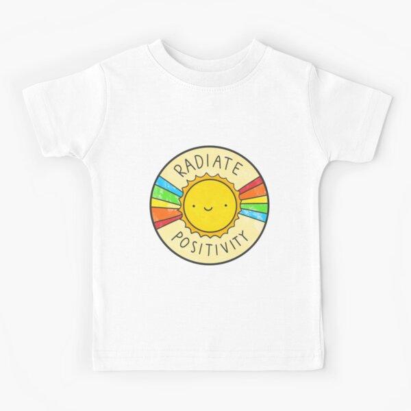 Rayonner la positivité T-shirt enfant