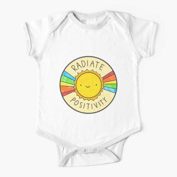Radiate Positivity Short Sleeve Baby One-Piece