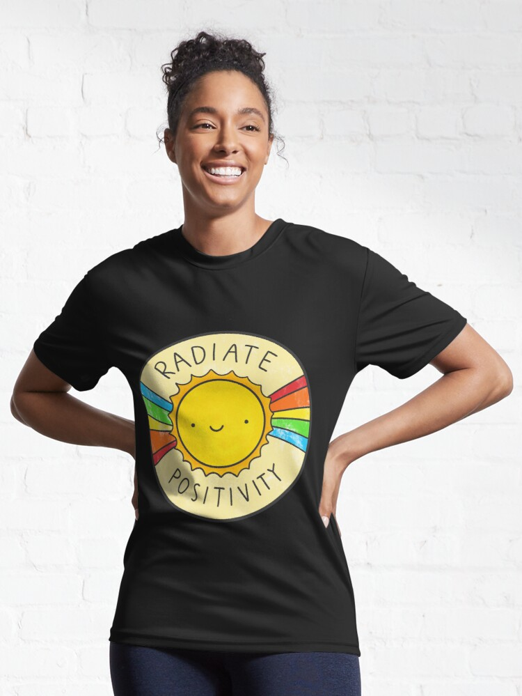 Alternate view of Radiate Positivity Active T-Shirt
