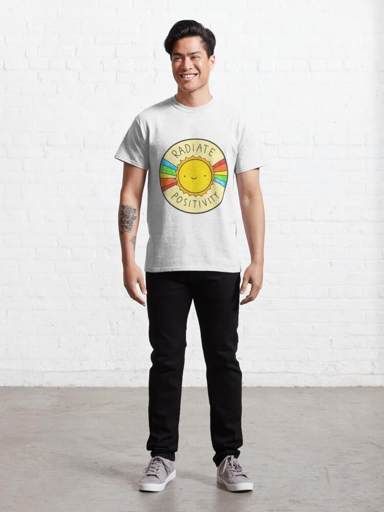 Alternate view of Radiate Positivity Classic T-Shirt