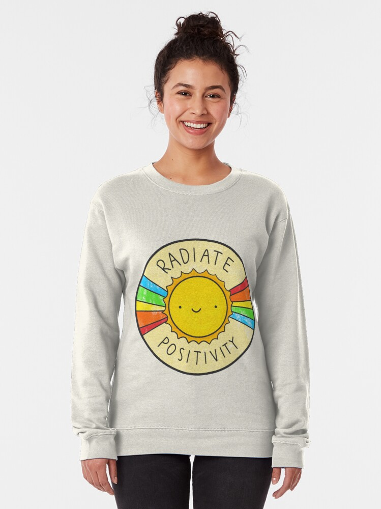 Alternate view of Radiate Positivity Pullover Sweatshirt