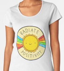 Radiate Positivity Women's Premium T-Shirt