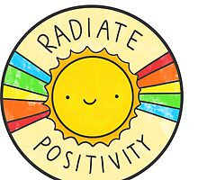 Radiate Positivity by Brittany Hefren