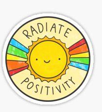 Strahlenpositivität Sticker