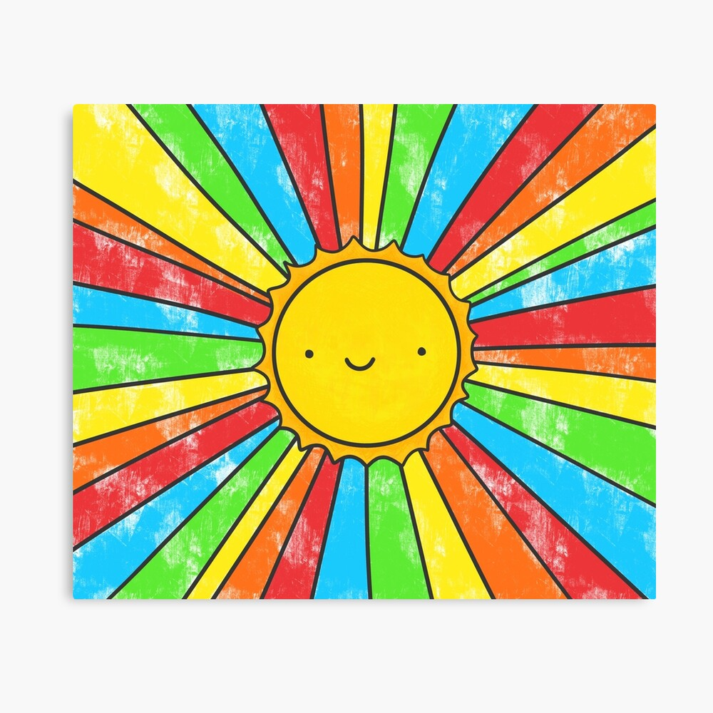 Radiate Positivity Canvas Print