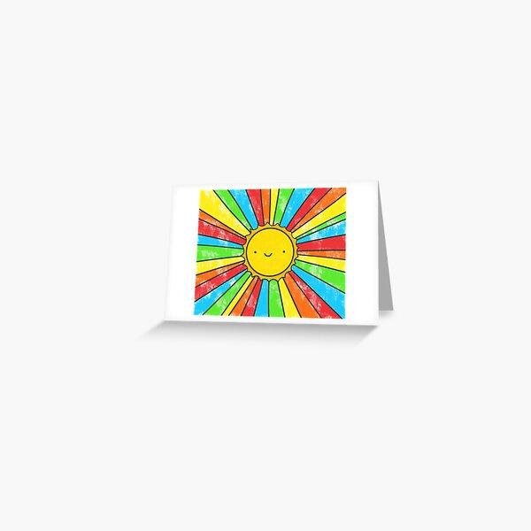 Radiate Positivity Greeting Card