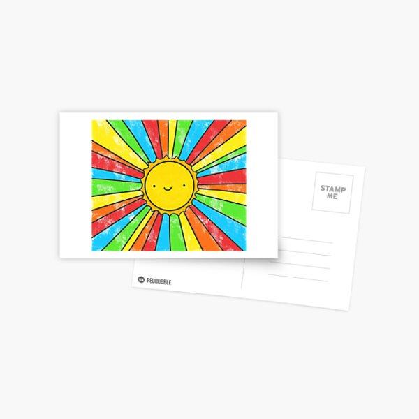 Radiate Positivity Postcard