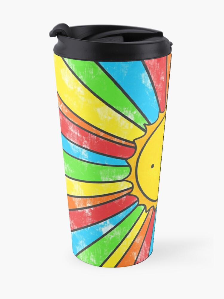 Alternate view of Radiate Positivity Travel Mug