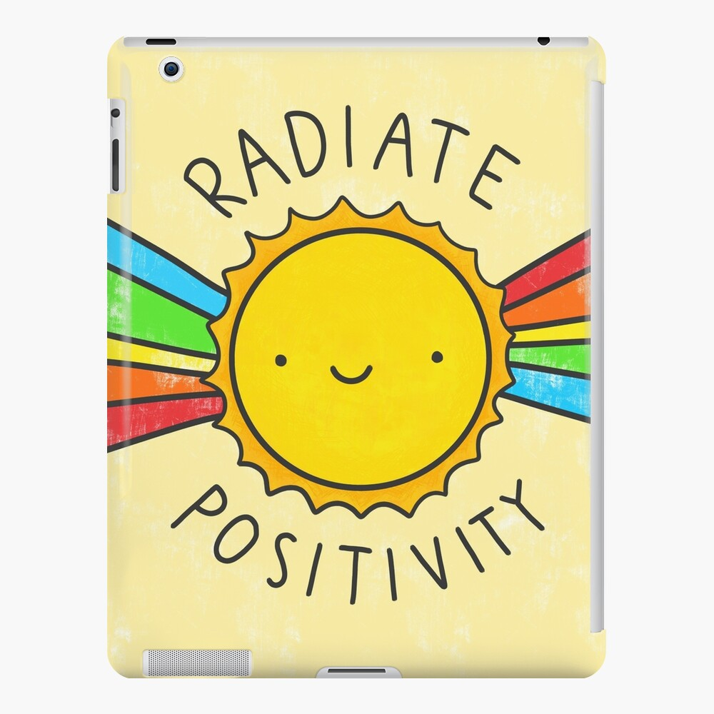 Radiate Positivity iPad Case & Skin