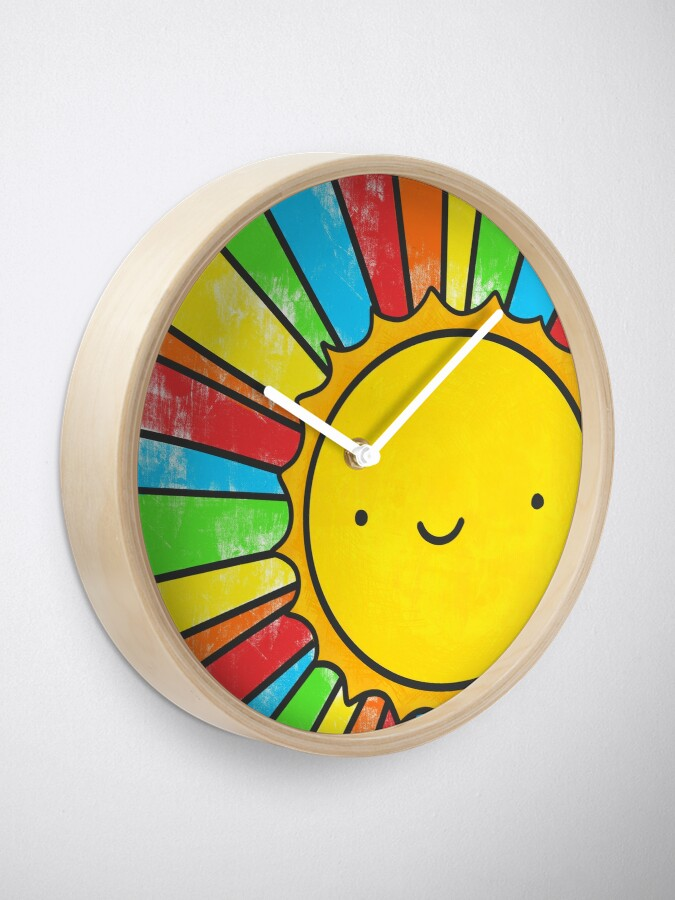 Alternate view of Radiate Positivity Clock
