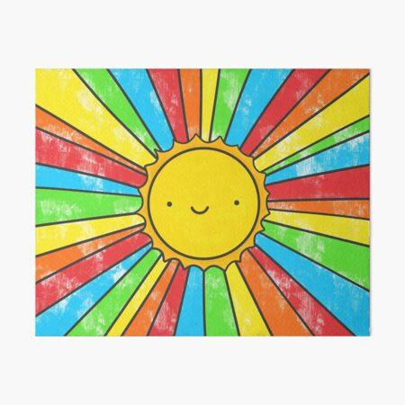 Radiate Positivity Art Board Print