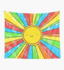 Radiate Positivity Wall Tapestry