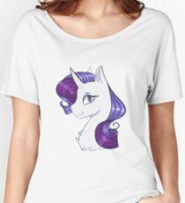 MLP My Little Pony Rarity Women's Relaxed Fit T-Shirt