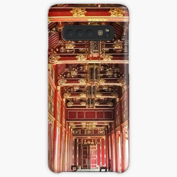 Red Asian Palace Samsung Galaxy Snap Case