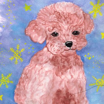Winter Poodle by MARILOLA126