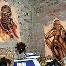 African Art at Roys Camp by Graeme  Hyde