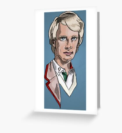 Fifth Lord of Time Greeting Card