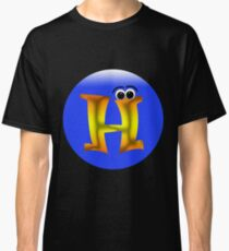 Name Starts with Letter H Classic T-Shirt