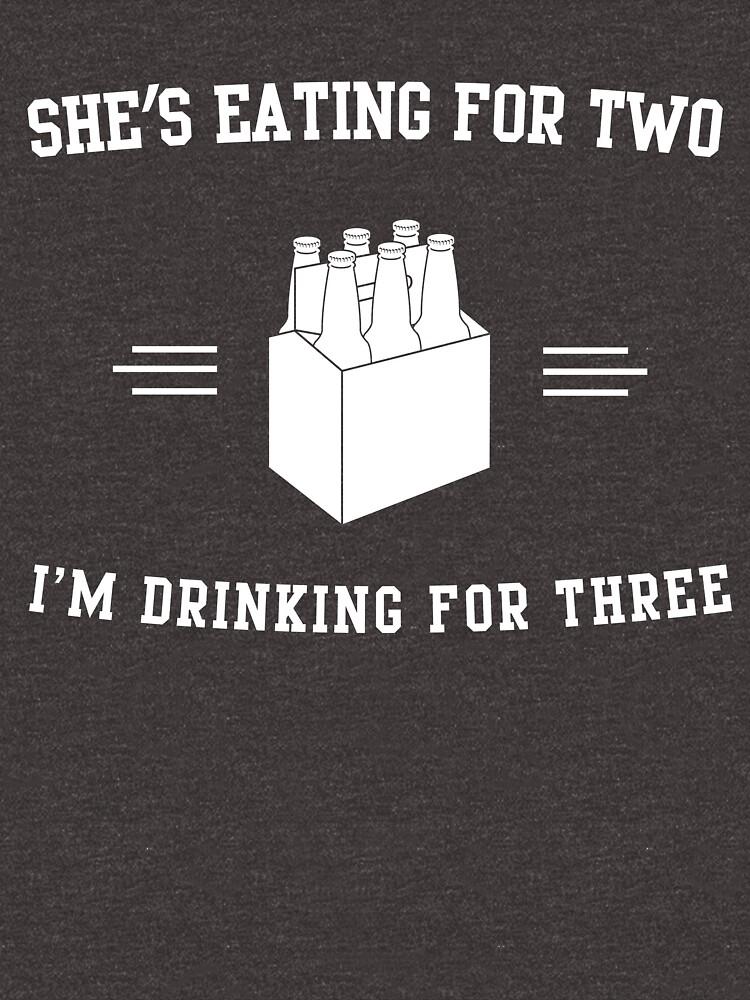 Sie isst für zwei, ich trinke für drei von wondrous