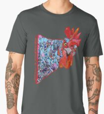 Rooster for Good Fortune and Fertility Men's Premium T-Shirt