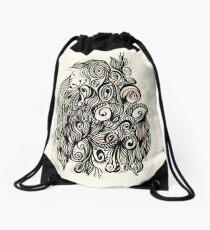Pastel Garden Drawstring Bag