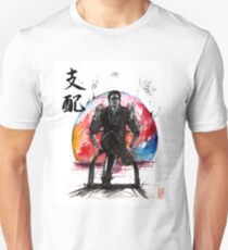 Illusive Man from Mass Effect with calligraphy T-Shirt