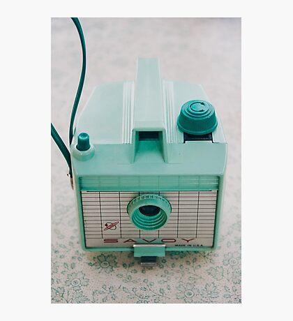 Mint Green Savoy Photographic Print