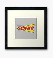 Sonic Drive In Framed Print
