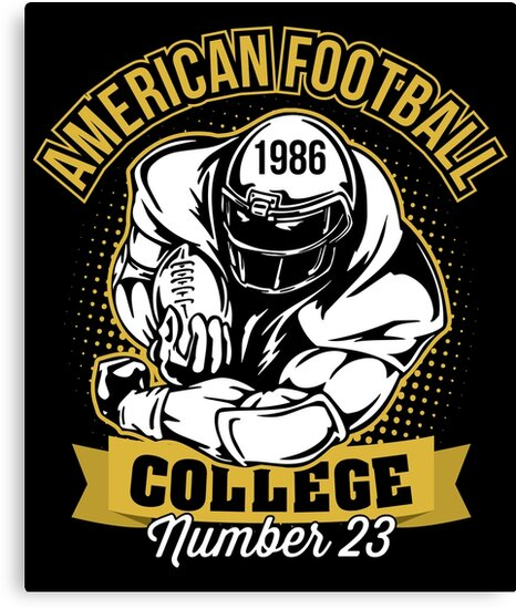 American Football T shirt Gift For American football lovers by BBPDesigns