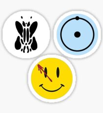 Alan Moore Watchmen Sticker