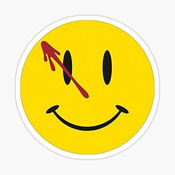 Alan Moore Watchmen Comic Smiley Face Pegatina