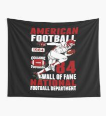 American Football T shirt Gift For American football lovers Wall Tapestry
