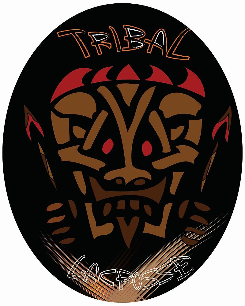 Tribal Lacrosse by Zac Stinchcomb