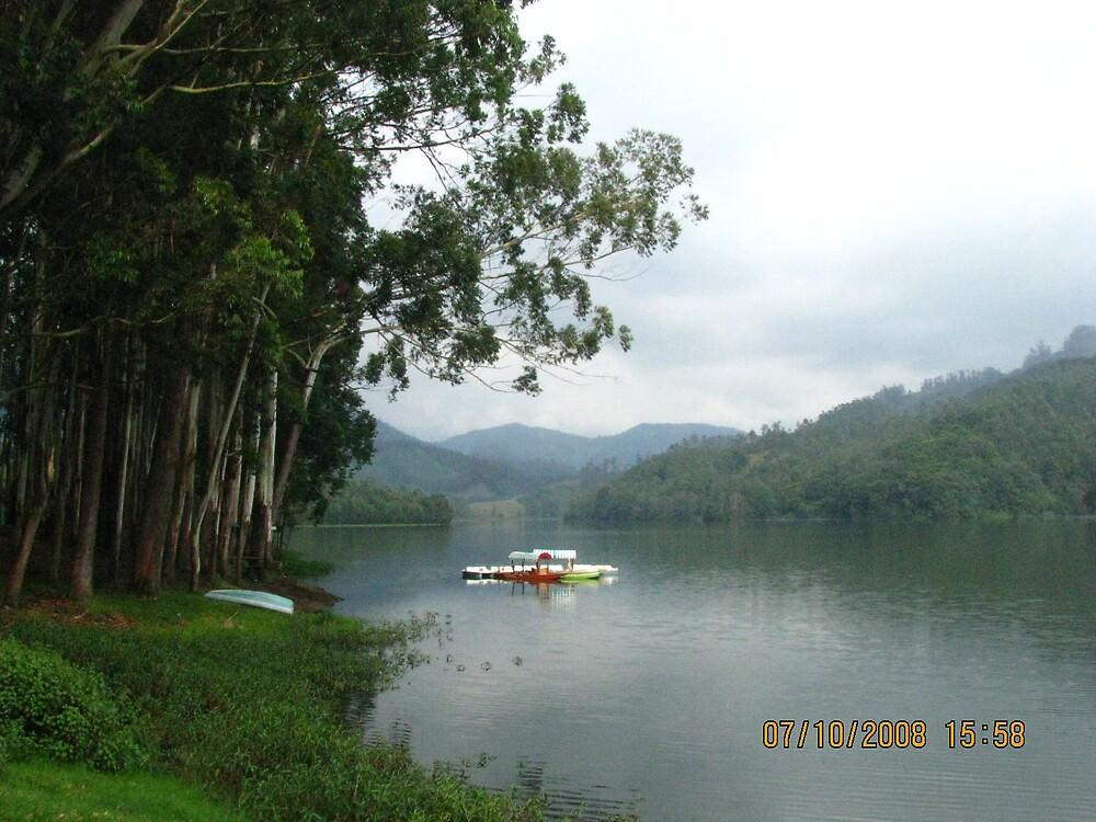 lake side by mathewkmangalam