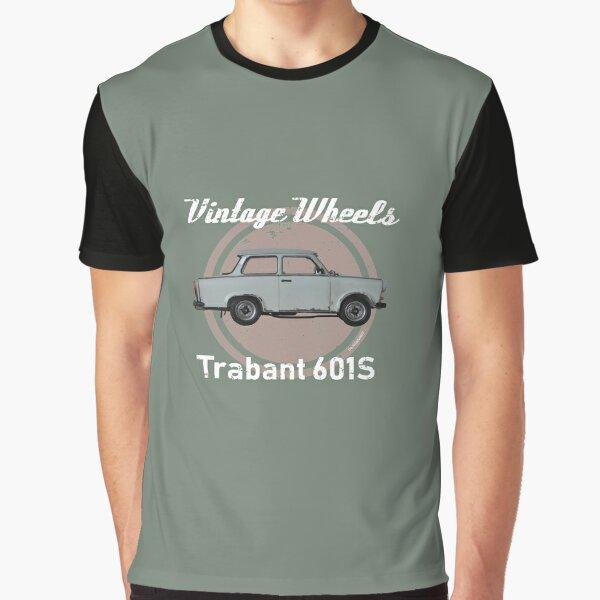 Vintage Wheels - Trabant 601S Graphic T-Shirt