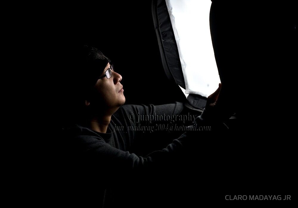 ligting me up by CLARO MADAYAG JR