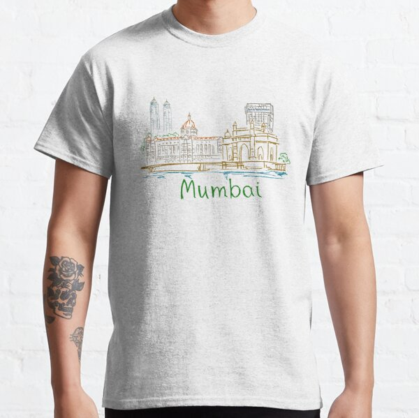 Mumbai Bombay Panorama Classic T-Shirt