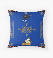 Horus Hippo - Egypt Scarf Floor Pillow
