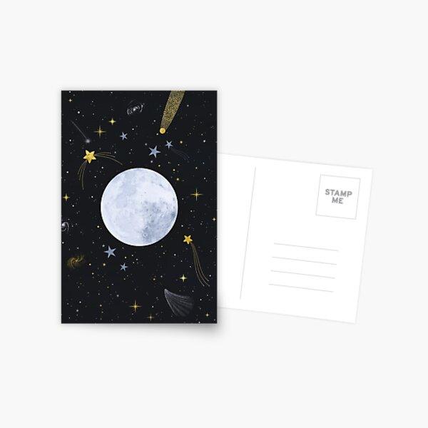 Nuit magique Carte postale