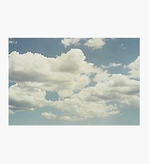 Barcelona Sky Photographic Print