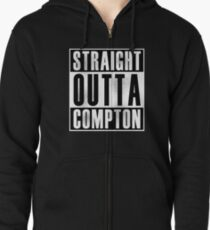 Straight Outta Compton Zipped Hoodie