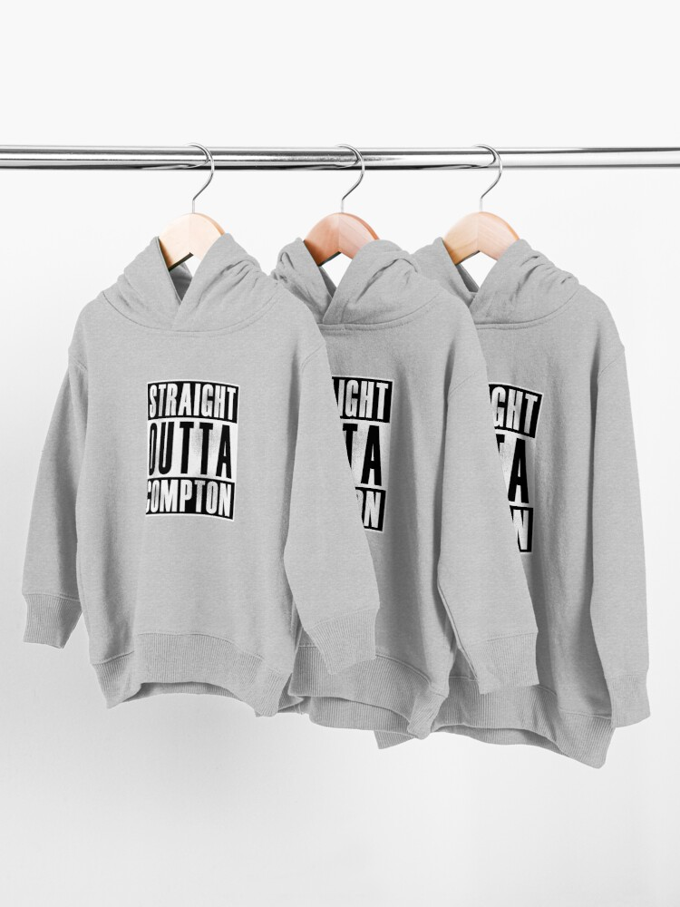 Alternate view of Straight Outta Compton Toddler Pullover Hoodie