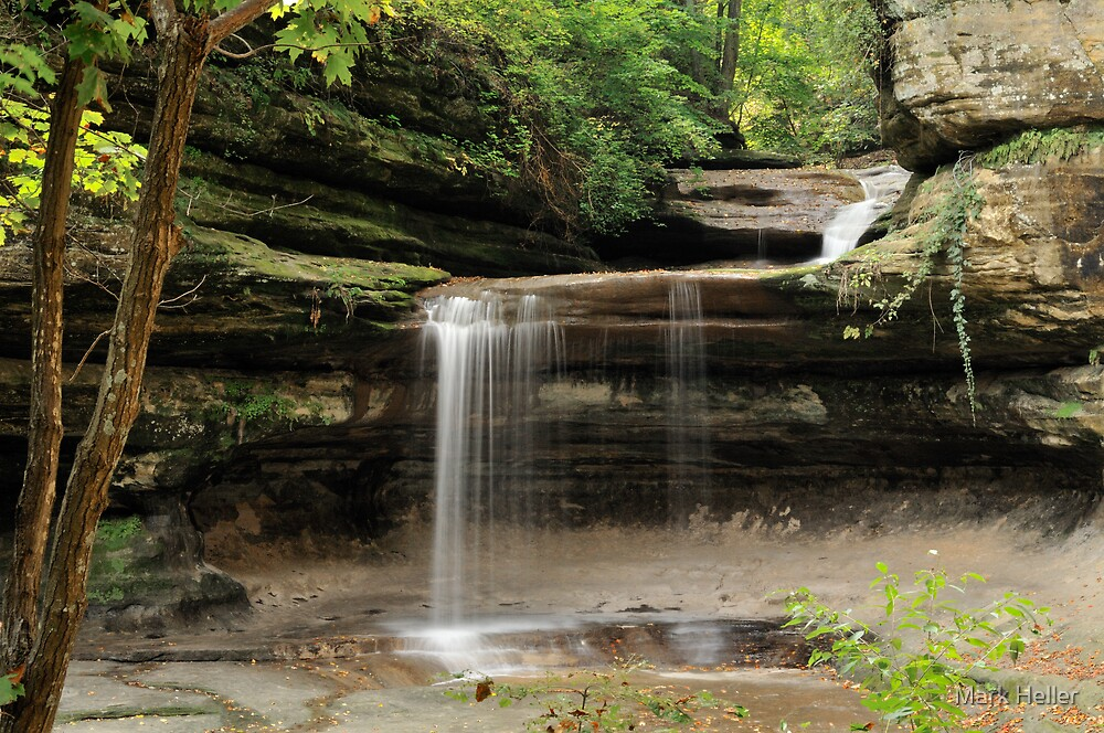 LaSalle Canyon - Starved Rock State Park by Mark Heller