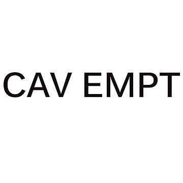 Cav empt design by namwa10